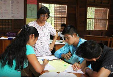 alleres dirigidos a los jóvenes estudiantes de Formación Inicial Docente EIB del Formabiap de los pueblos Shawi, Awajún, Kichwa y Kukama-Kukamiria